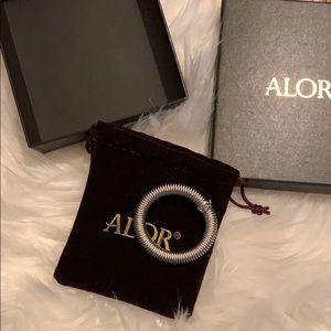 Alor kai stretchy silver bracelet